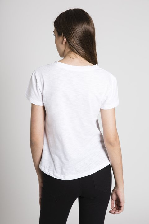 Remera Nothing Gal Blanco - comprar online