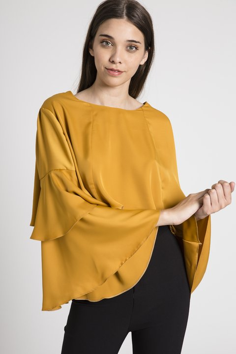 Blusa Golden Mostaza en internet