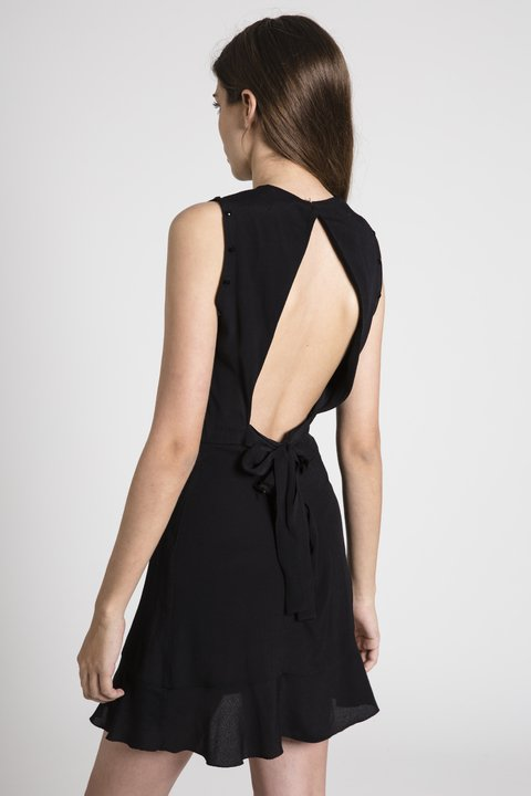 Vestido Holly Negro - Becci