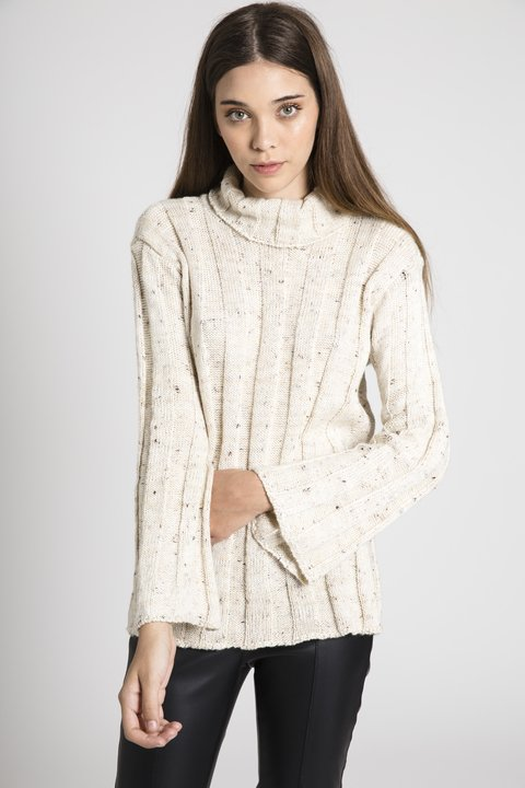 Sweater Orange Beige en internet