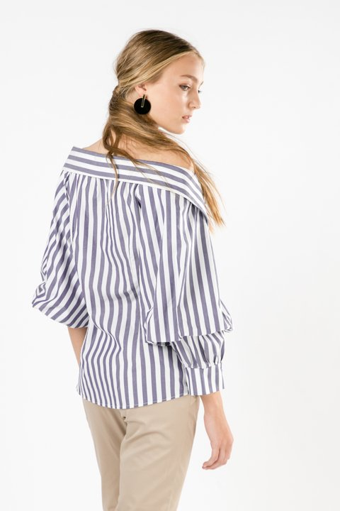 CAMISA OFF SHOULDER MARGO RAYAS en internet