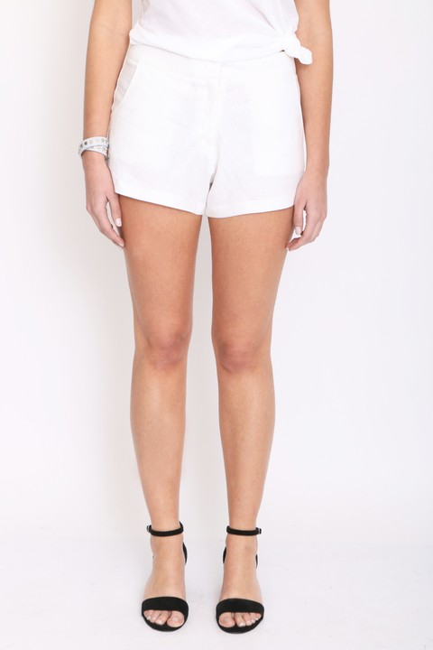 Short Garden Blanco en internet