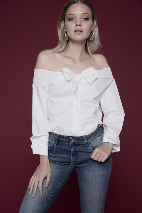 CAMISA OFF SHOULDER DAPHNE - Becci