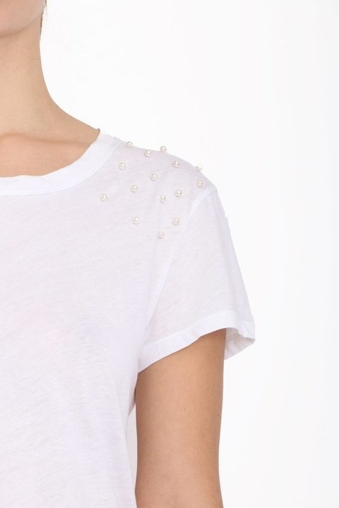 Remera Petal Blanco en internet