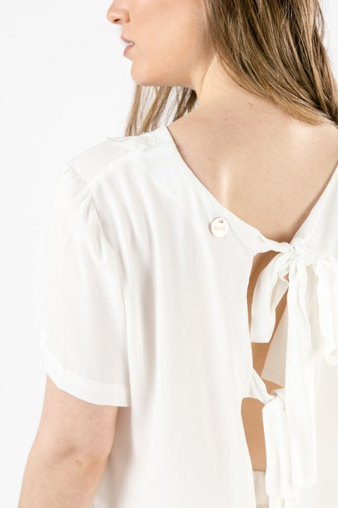 REMERA FANNY OFF WHITE - Becci