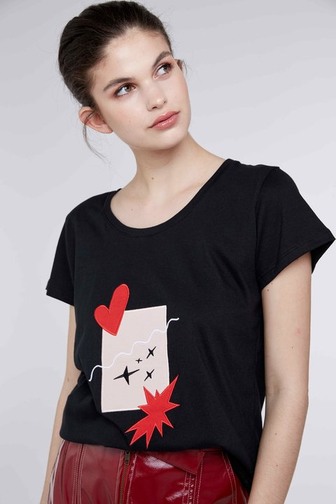 REMERA PATCHWORK en internet