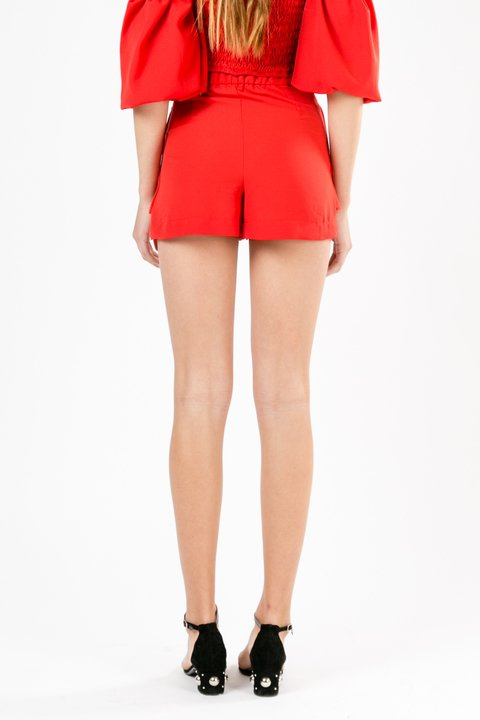SHORT POPPY ROJO en internet