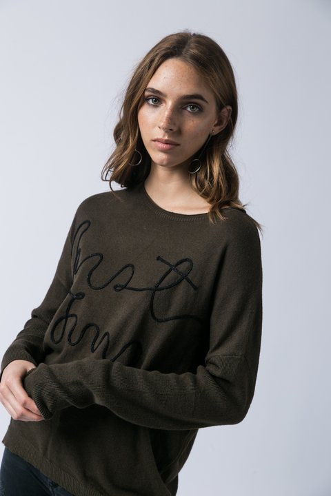 SWEATER PLAZA VERDE - Becci
