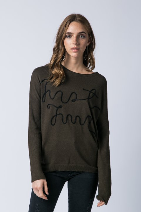 SWEATER PLAZA VERDE