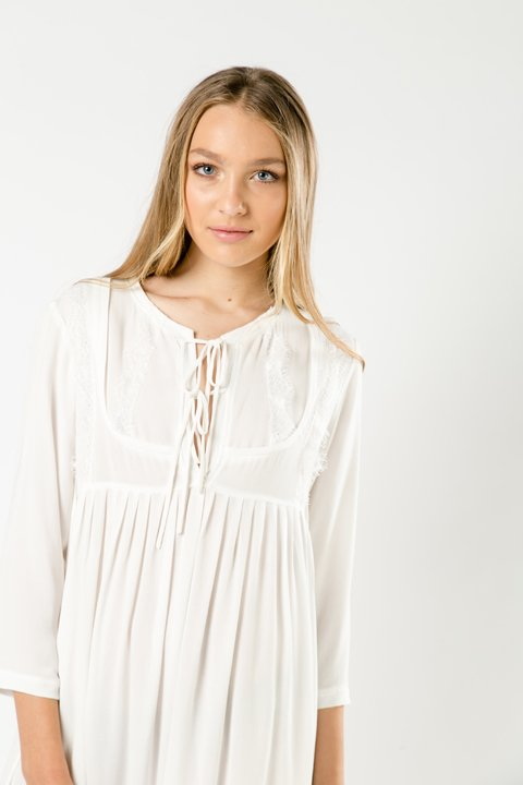 VESTIDO FANNY OFF WHITE en internet