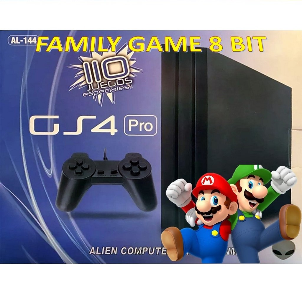 Family Game Gs4 Pro 110 Juegos