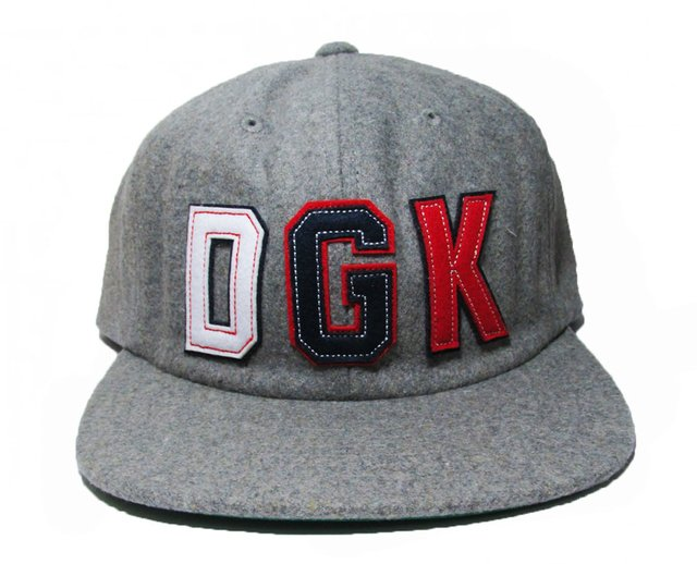 Boné DGK PAST TIME 6-Panel Grey