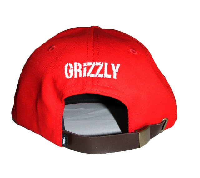 Boné Grizzly 5Panel OG Bear Strapback Red - comprar online