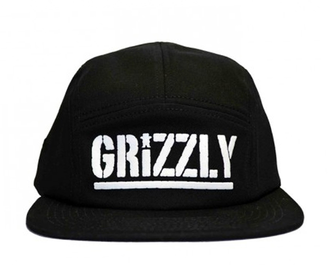 Boné Grizzly 5Panel Camp Strapback