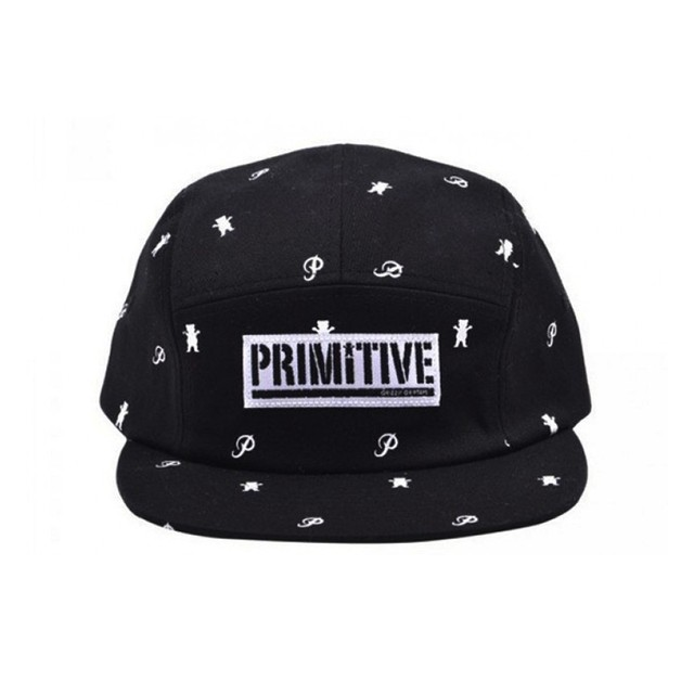 Boné Primitive x Grizzly 5 Panel
