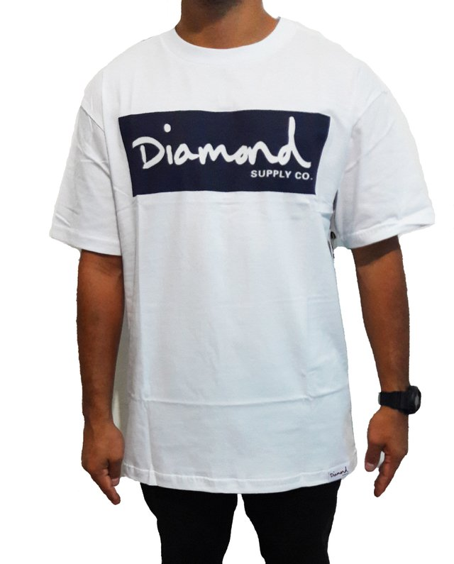 Camiseta Diamond  Box Radiant