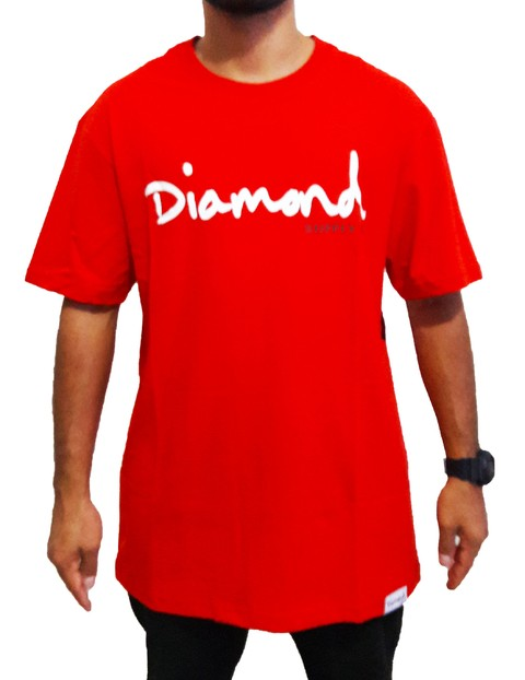Camiseta Diamond Supply Og RD