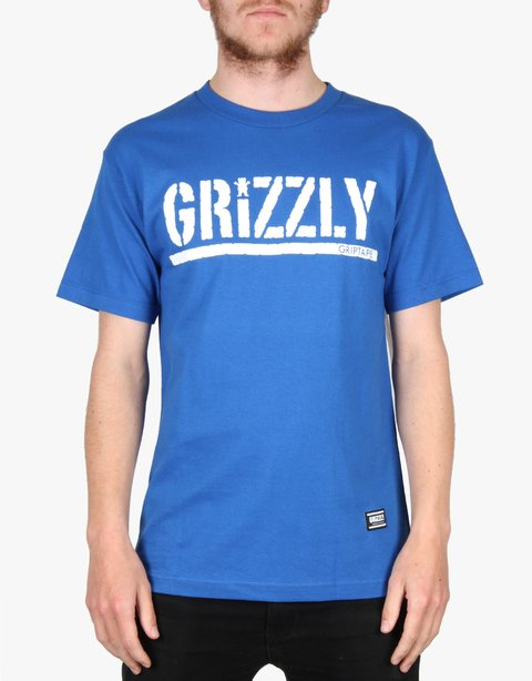Camiseta Grizzly Script Royal