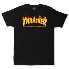 Camiseta Thrasher Magazine Flame