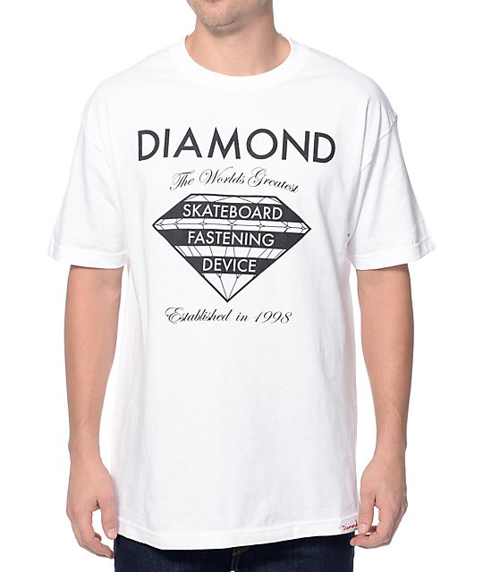 Camiseta Diamond Supply Fastening