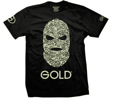 Camiseta Gold Wheels Team Goon Especial