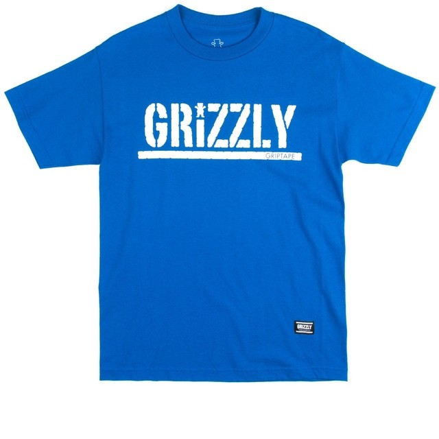 Camiseta Grizzly Script Royal na internet