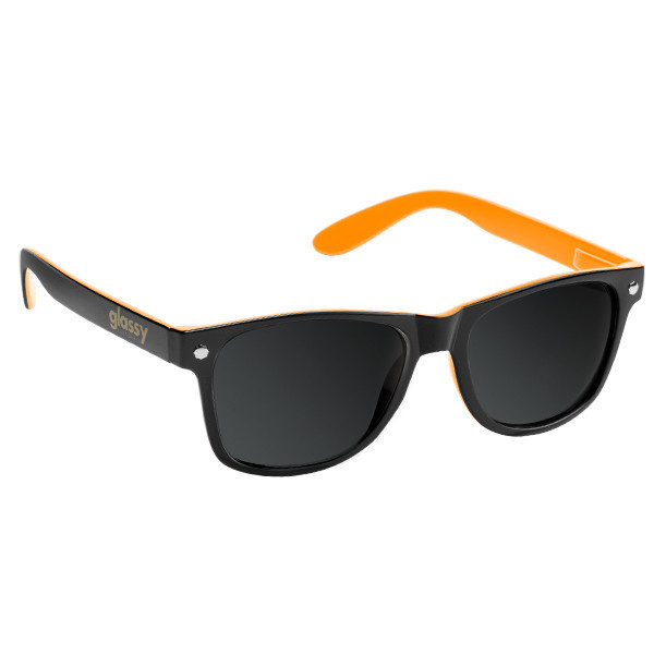 Óculos Glassy Leonard Black/Orange
