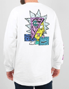 Camiseta Primitive M/L Rick Morty Wht