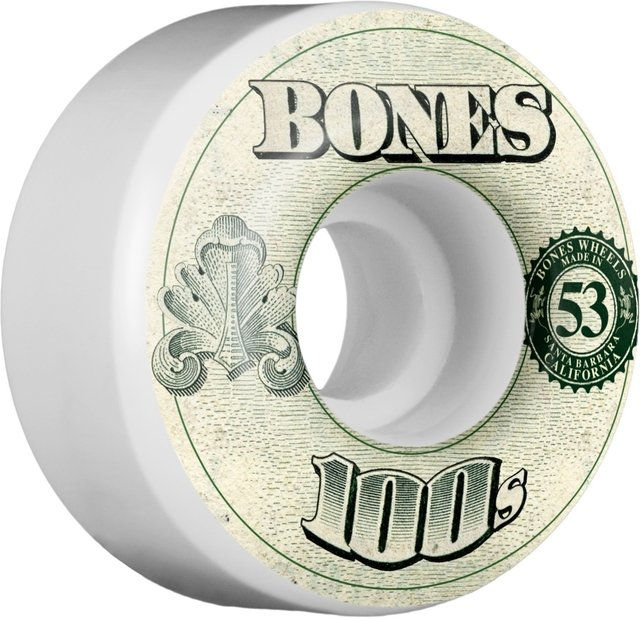BONES Wheels 100's OG Formula 53mm