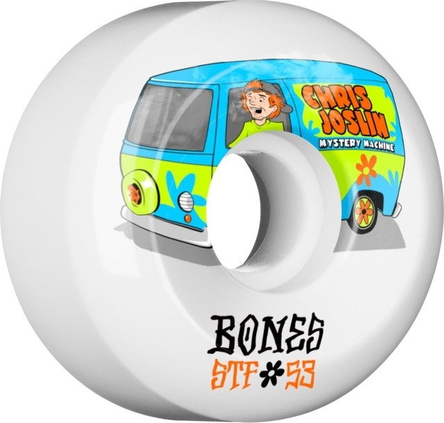 BONES Wheels STF Pro Joslin Shaggy 53mm