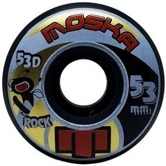 Roda Moska W Rock Blk 53mm