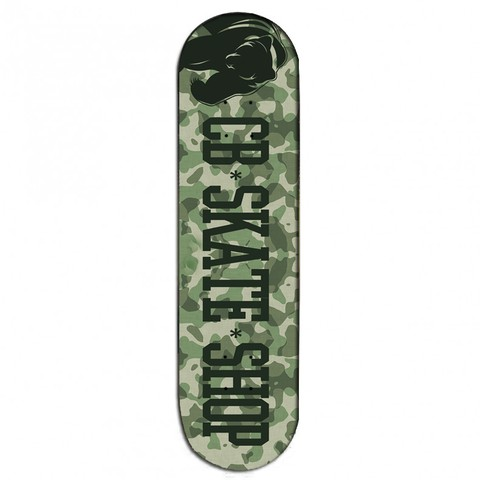 Shape CB SKATE SHOP Fiber Glass Cali Camuflado
