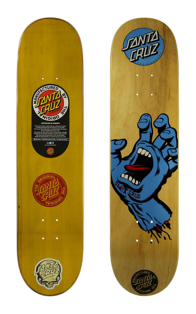 Shape Santa Cruz Hand Wood  7.8