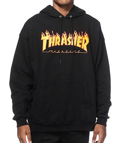 Moletom Thrasher Flame