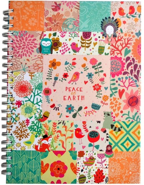 Cuaderno A4 - Patch