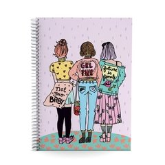 Cuaderno A4 - Girl Power - comprar online