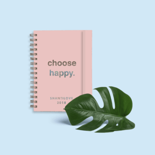 PROMO PRE VENTA - Agenda 2018 - Choose Happy