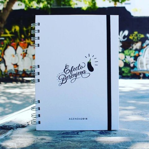 AGENDA 2018 - White Berenjena (ECO Friendly) - comprar online