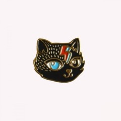 Pin - Gato Bowie