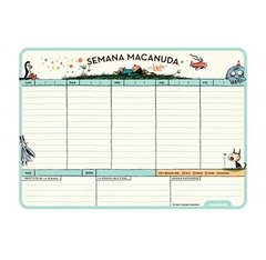 Planner-Mouse Pad Semanal