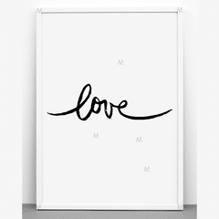 Loveone - Multicuadros - Moda en tu pared