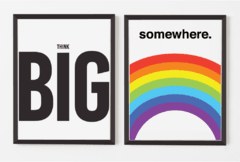 PROMO COMBO - Think Big + Somewhere - comprar online