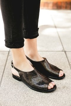 CLEMATIS NEGRO - Camelia Shoes