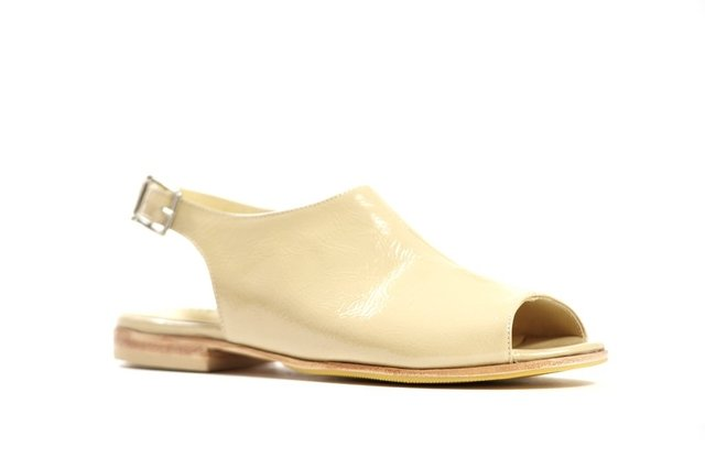 CLEMATIS BEIGE - Camelia Shoes