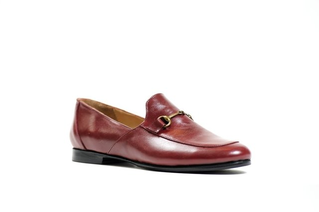 ZAPATO FLORENCE COMPLETO BORDO - Camelia Shoes