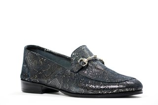 ZAPATO NEW FLORENCE ENTERO AZUL - Camelia Shoes
