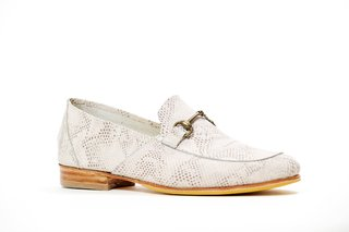 ZAPATO NEW FLORENCE ENTERO BLANCO - Camelia Shoes