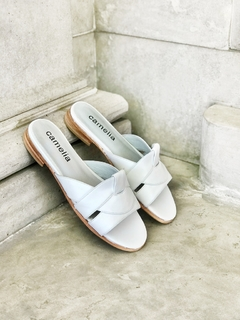 ZAPATO CAPRI BLANCO 38 - Camelia Shoes