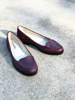ZAPATO CORAZON BORDO 40 - Camelia Shoes
