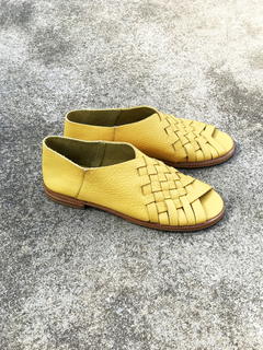 ZAPATO AMBAR AMARILLO - Camelia Shoes